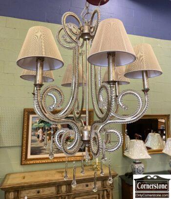 7697-2 - Glass Beaded Hangingi Fixture