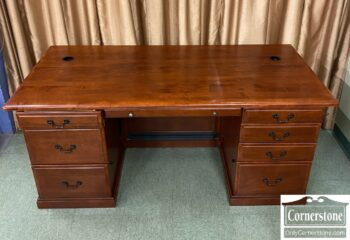 7707-1 - Cherry Executive Desk