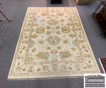 7708-15 - Wool Hand Knotted Rug
