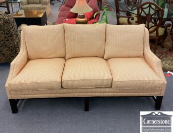 7710-8 - Contemp Sofa Orange Cream