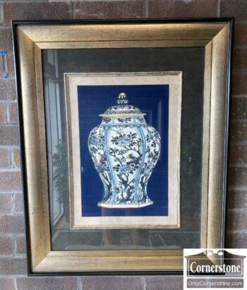 7731-22 - Pr Large Chinese Urn Prints