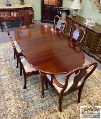 7770-1 - PA House QA Tbl 6 Chairs 2 Lvs Pads