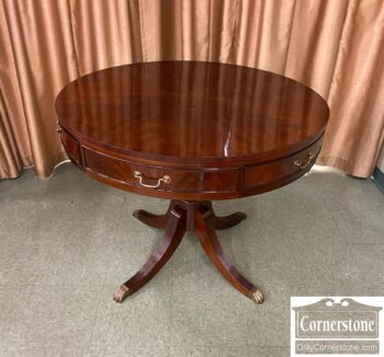 7778-7 - Mahogany Drum Table