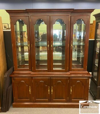 7779-1 - Colonial Sol Cher Display China Cabinet