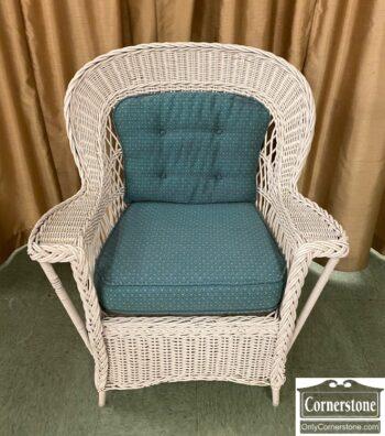 7782-1 - Antique Wicker Chair