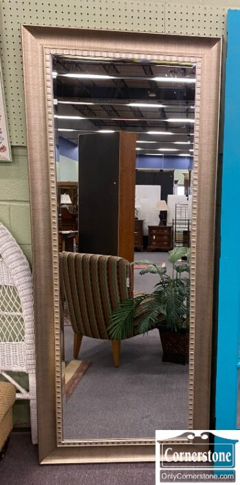 7783-1 - Silver Frame Floor Mirror