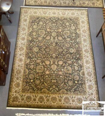 7784-13 - Sage Indo Agra Room Size Rug
