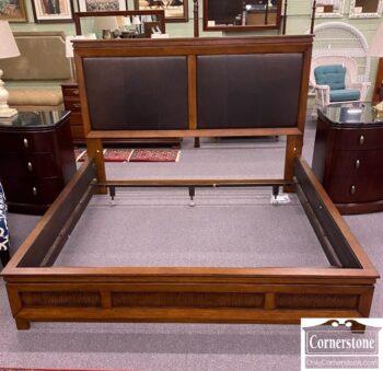7784-26 - Nautica Lex Home Cont King Bed Leath Hdbrd