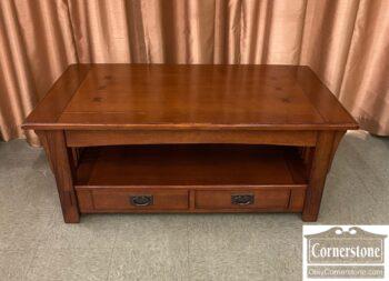 7792-2 - Oak Ven Mission Lift Top Coffee Table