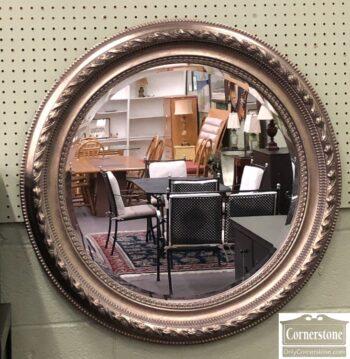7811-3-Round Silver Mirror