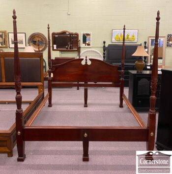 7813-9 - Cherry King Poster Bed