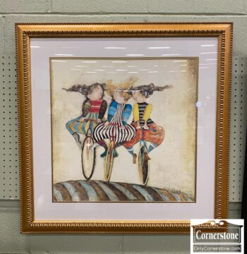 7815-12 - Boulanger Lithograph Holiday on Wheels