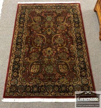 7832-1 used hand made wool rug