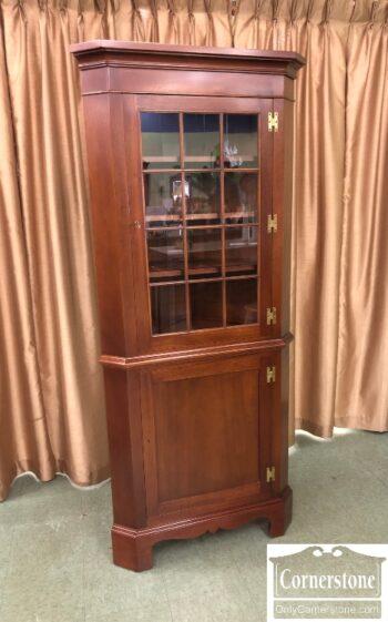 7853-14-Biggs Sol Mah Corner Cabinet