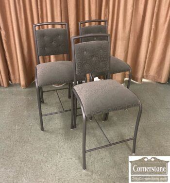 7875-2-3 Counter Stools Green Uph
