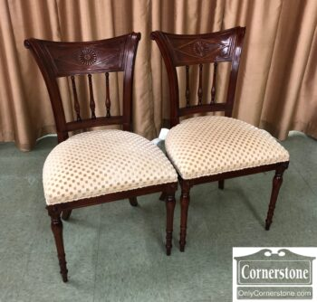 7875-4-Pr Regency Style Side Chairs