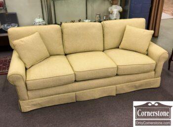 7895-1-Calico Corners Green White Sofa