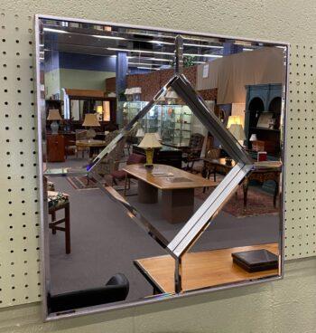 square modern mirror