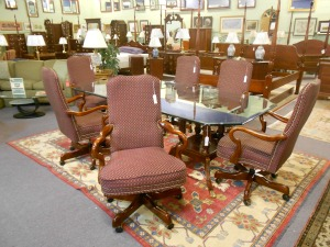 Conference Table and Chairs File Cabinets and More