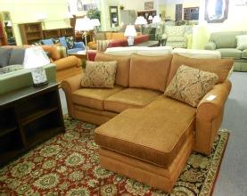 orange sofa from craftmaster