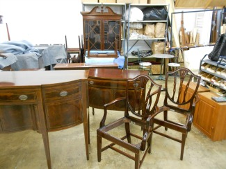 Inlaid Traditional Dining Room Furniture From Potthast Brothers Of