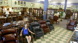 New Leather Recliners On Sale Great Prices On Used Henkel Harris Furniture There 39 S Something