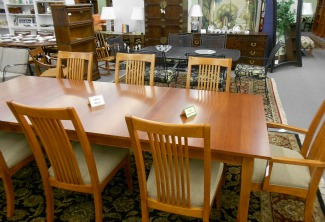 Ethan Allen Mission Style Table And Chairs More Casual Dining