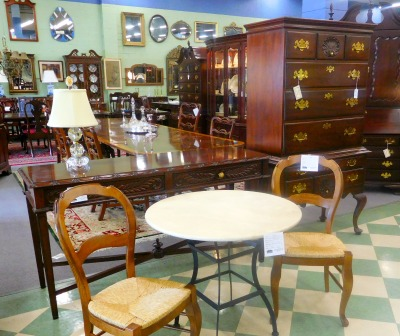 Formal And Casual Furniture Mix At Baltimore 39 S Favorite Furniture Consignment Store
